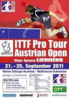 настольный теннис видео открытый чемпионат Австрии