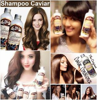 Caviar Shampoo Penumbuh dan Perawatan Rambut