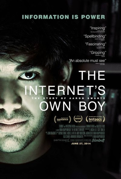 The Internet's Own Boy The Story of Aaron Swartz 2014 HDRip 480p 300mb