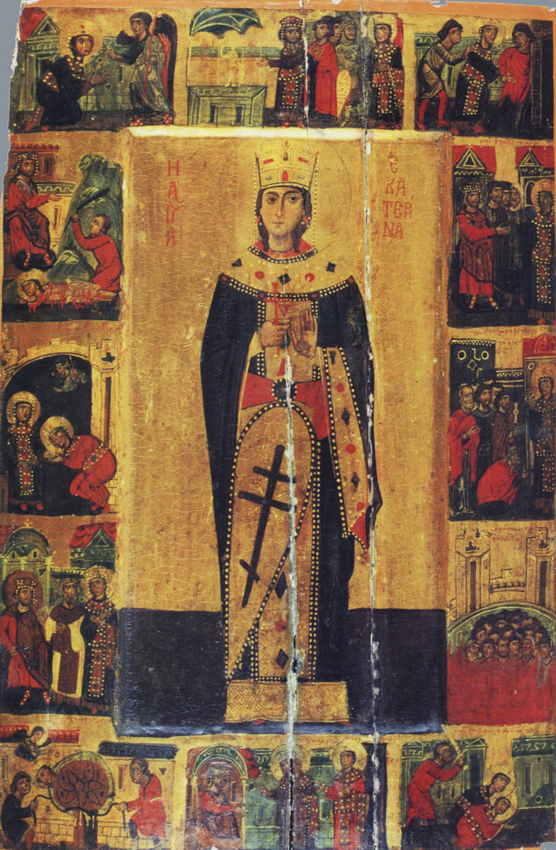 Icon of Catherine the Great Martyr: photo, what helps 35