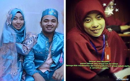 Baru Sebulan Menikah, Muslimah Pejuang Syariah Ini Dipanggil Oleh Allah