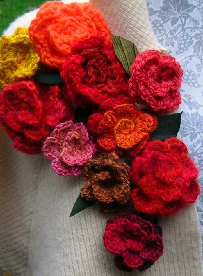 Crochet N Knitting Patterns : Crochet flower pattern knitting gallery