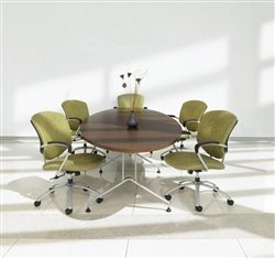 Alba Series Elliptical Conference Table