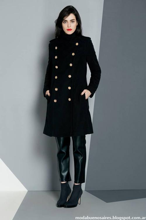 Tapados moda invierno 2014 Ruben Cassin.