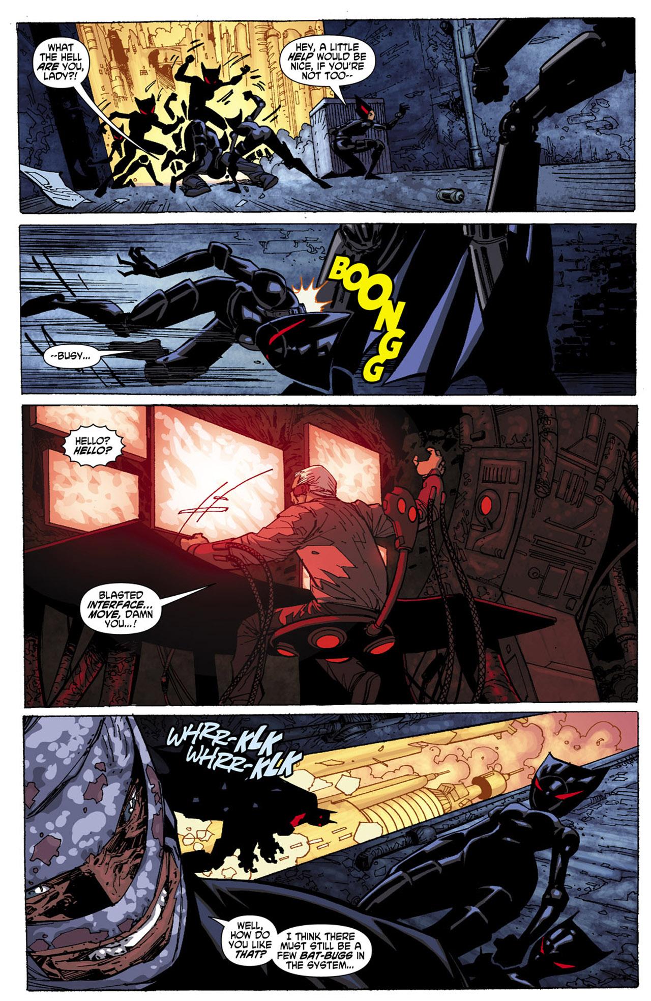 Batman Beyond (2010) Issue #4 #4 - English 11