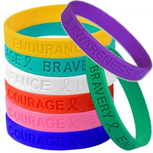awareness support wristbands