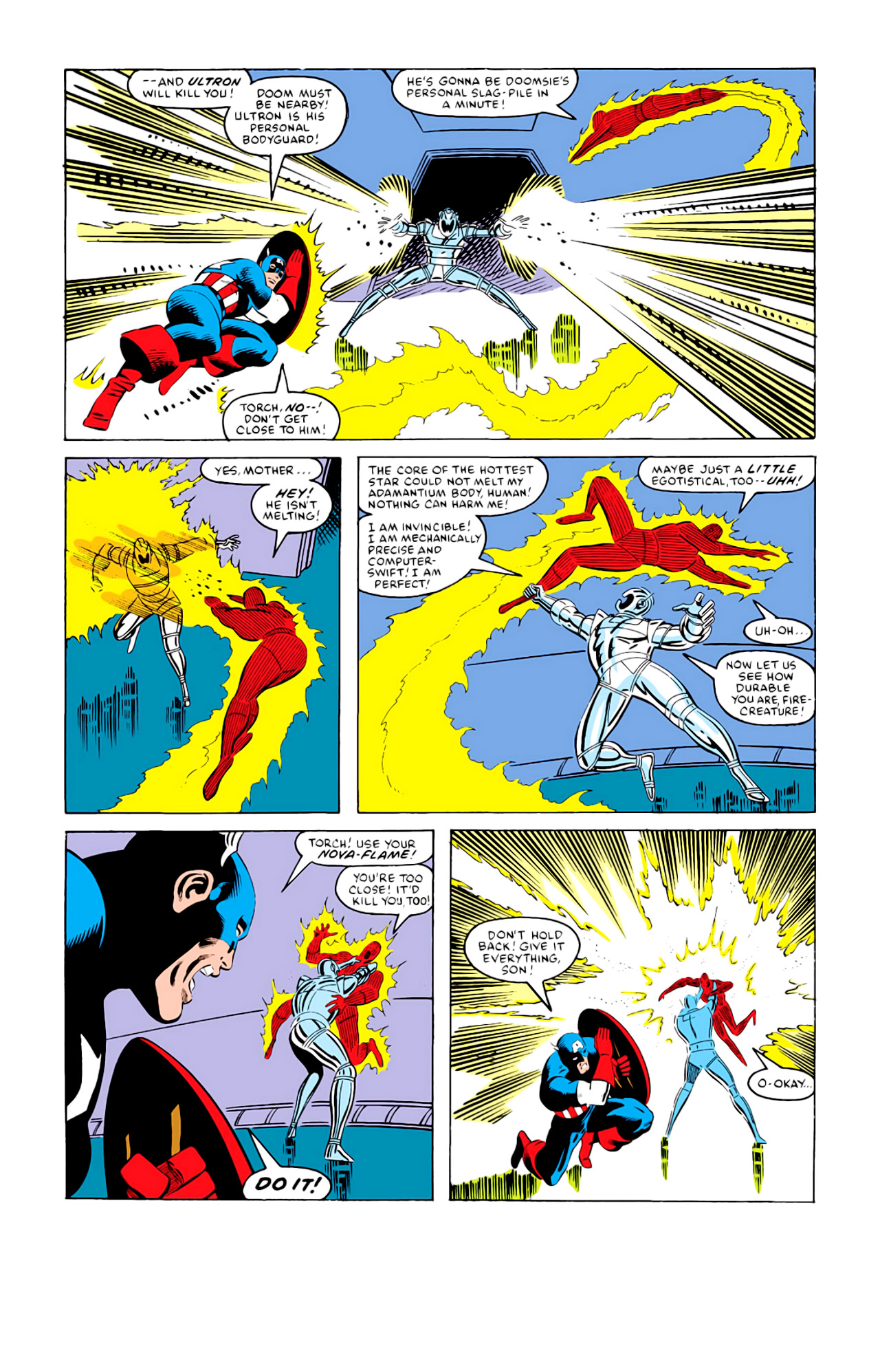 Captain America (1968) Issue #292i #216 - English 18