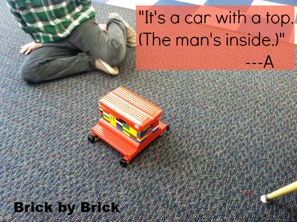 Lego car (Brick by Brick)