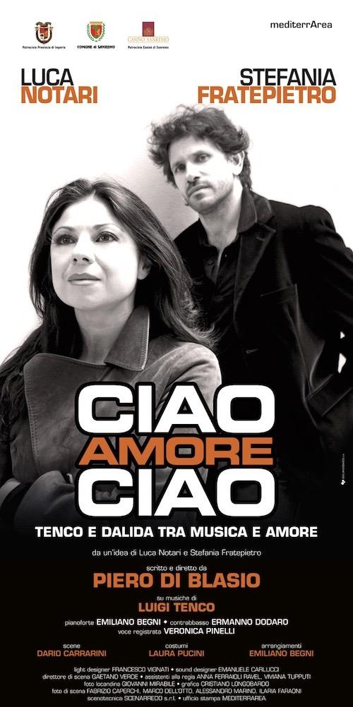"""""""CIAO AMORE CIAO"""" regia di Piero Di Blasio"""
