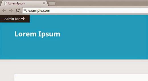 Cara Menyembunyikan Admin Bar WordPress.