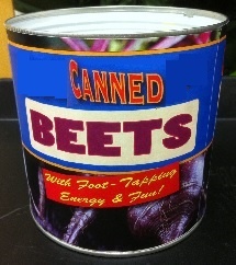 ... and without missing a beet!