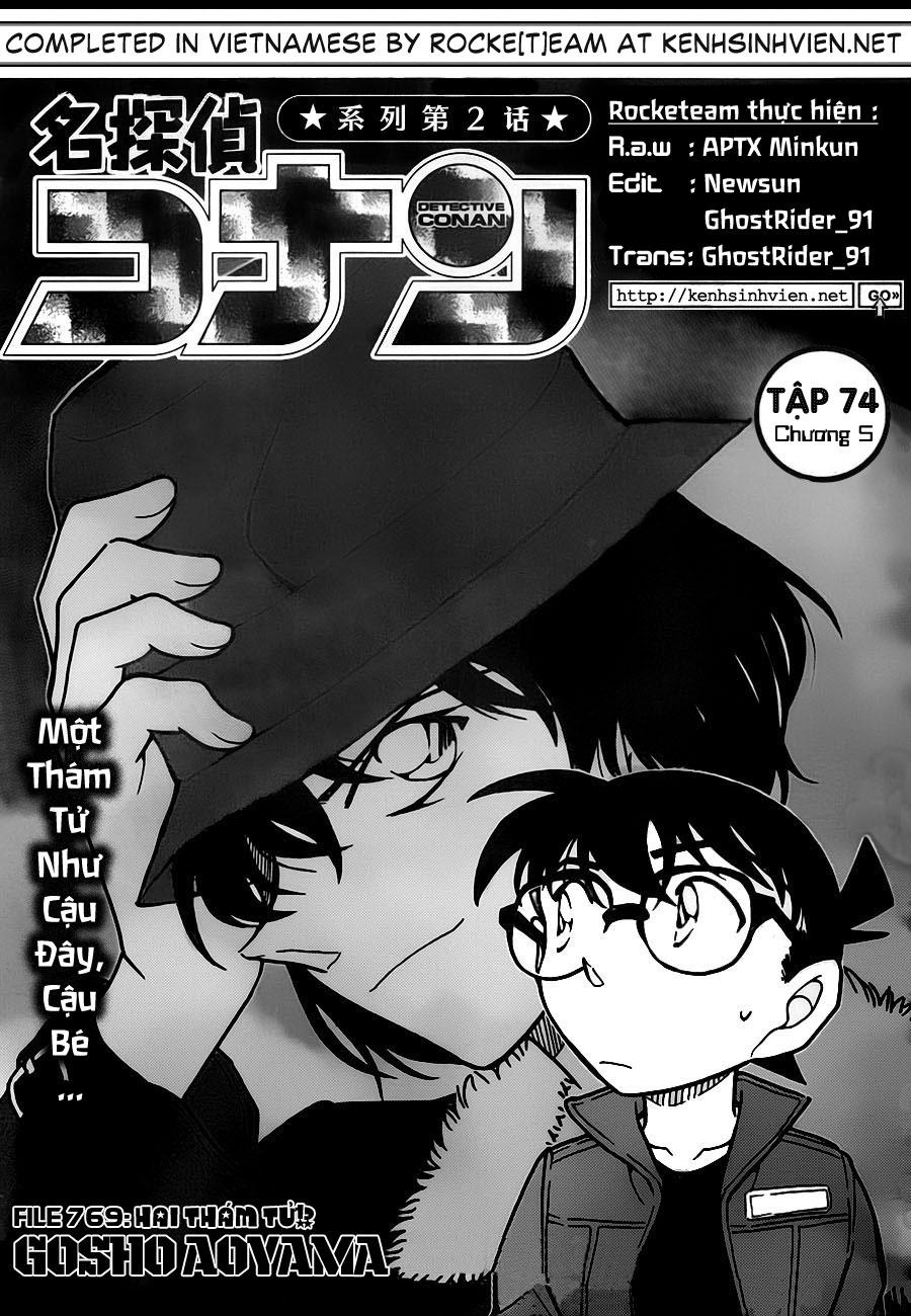 Detective Conan - Thám Tử Lừng Danh Conan chap 769 page 2 - IZTruyenTranh.com