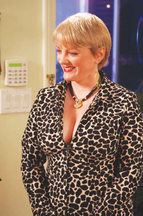 Alison Arngrim in the film Make the Yuletide Gay 2009