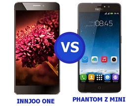 Innjoo One VS Tecno Phantom Z mini