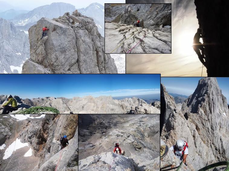 Los Guías de Montaña y la Escalada en los Picos de Europa y el Naranjo de Bulnes