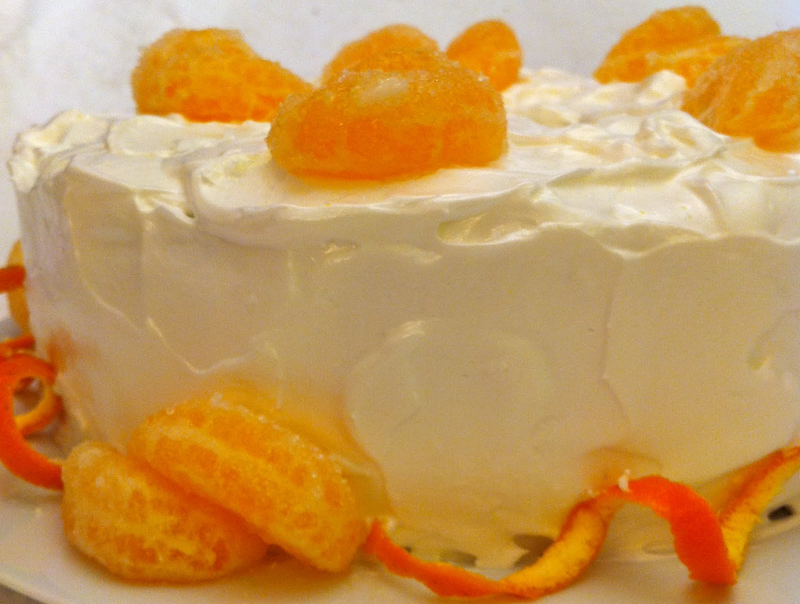 Mariola´s Cooking Therapy: Clementine Cake