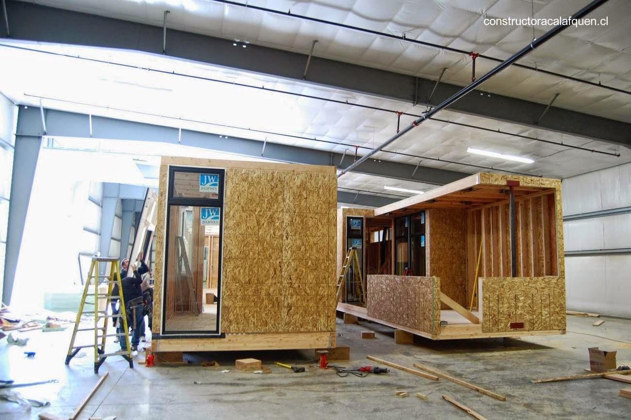 Arquitectura de casas 25 modelos de casas modulares - Casas de madera modulares ...
