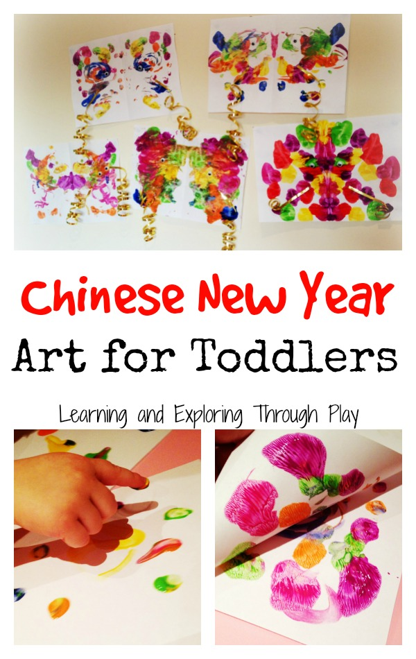 Learning and Exploring Through Play: Chinese New Year Dragon Art for ...
