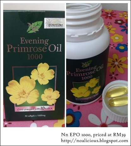 oh my noa, she's so vain!: Evening Primrose Oil