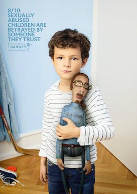 Green Pear Diaries, publicidad, advertising, Danger, abuso sexual infantil