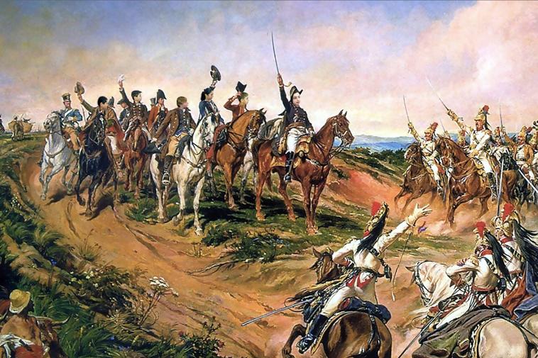 Independência ou Morte! Releitura Pedro Américo com Alunos dos 8˚s anos 2013
