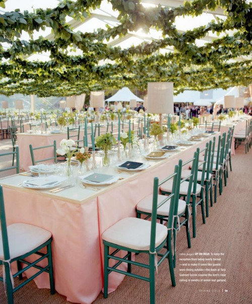 daily wedding bits tent wedding inspiration