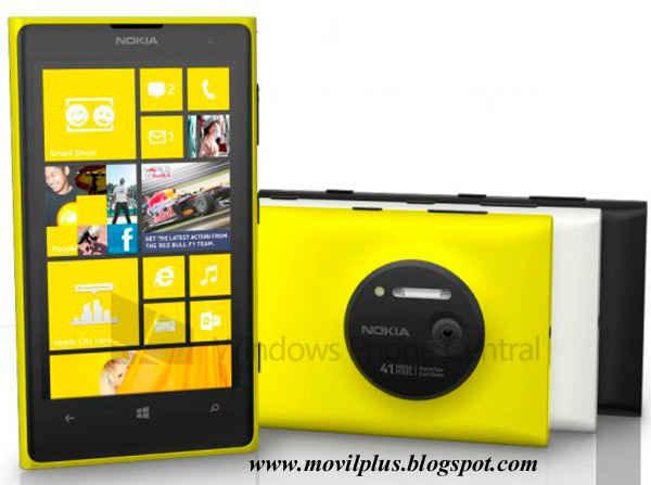 filtrado Nokia Lumia 1020