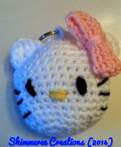 http://www.ravelry.com/patterns/library/amigurumi-hello-kitty-keychain