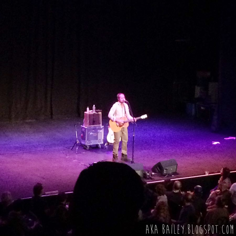 Citizen Cope performing at Wilbur Theater in Boston, March 31, 2015
