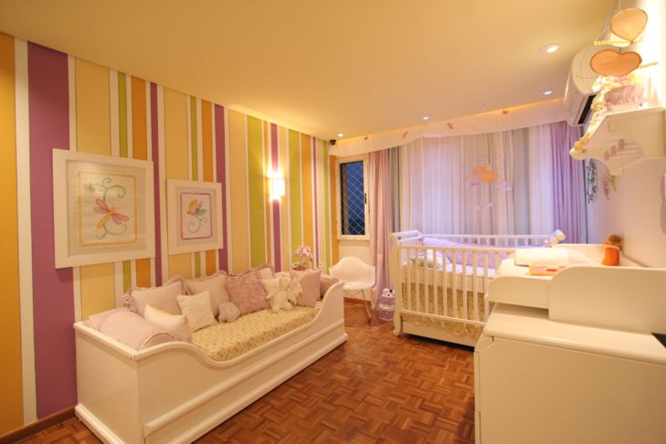 decoracao de quarto de bebe azul e amarelo:Samedi Atelier: Cromoterapia no Quarto do bebê