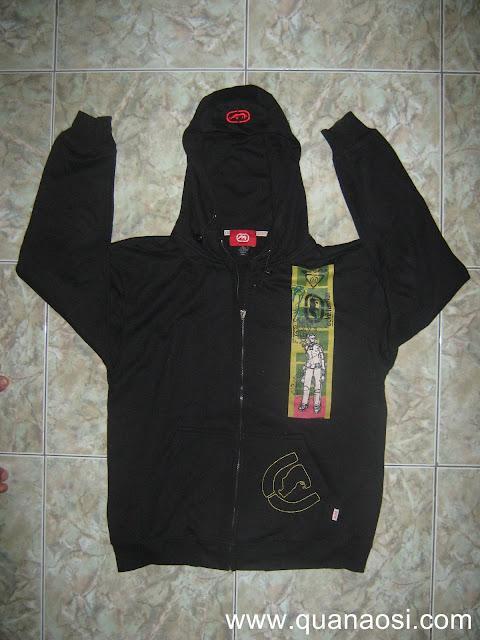 Áo khoác ECKO chính hãng màu đen 80k