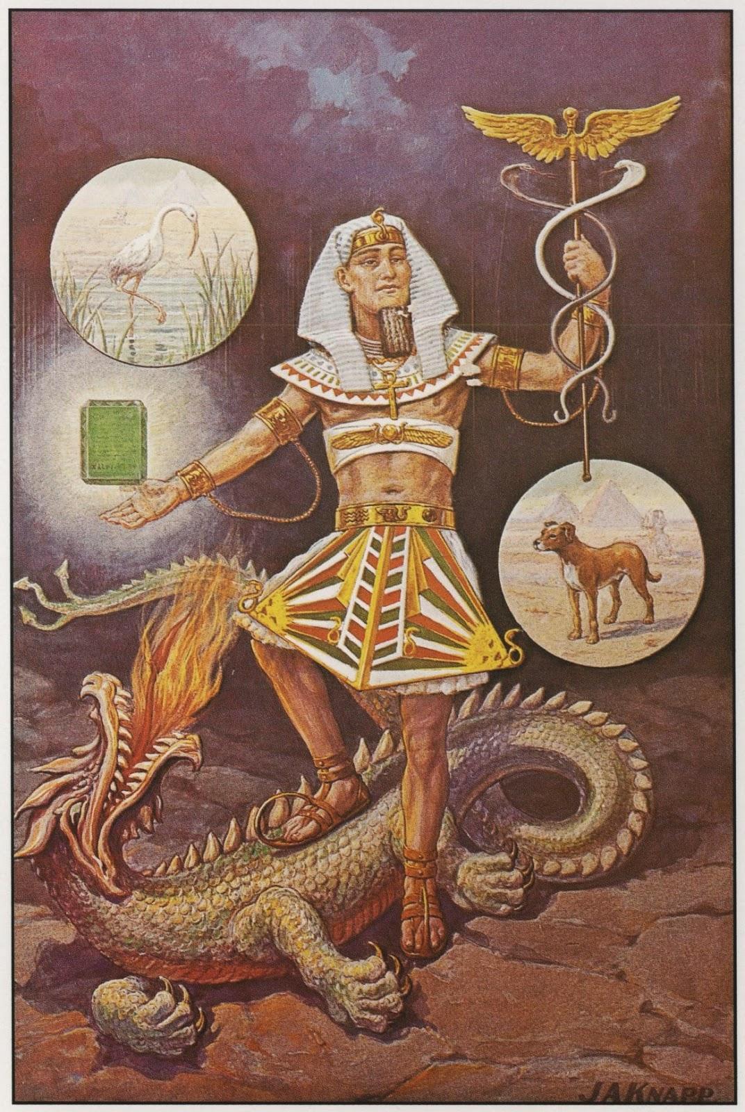 Hermes de  John Augustus Knapp