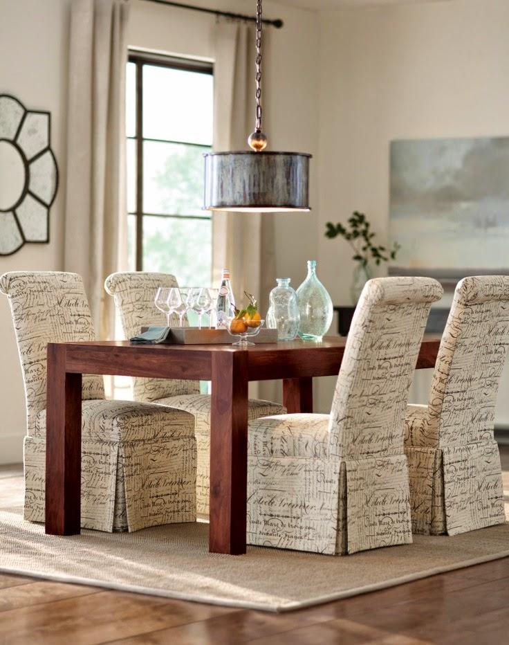 Mgc dise o de interiores fundas de sillas para renovar for Sillas para comedor tapizadas en tela