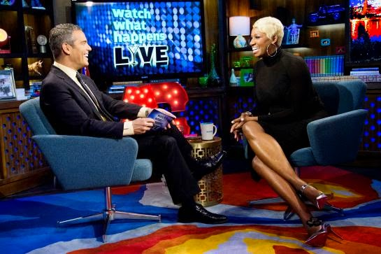 NeNe Leakes and Andy Cohen Talk Mob Wives & Basketball Wives