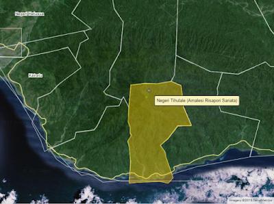 Letak Astronomis & Geografis Negeri Tihulale (Amalesi)