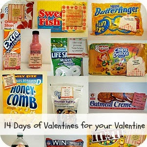 14 days of valentines for your valentine