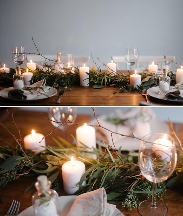 tablescape christmas . decoración de mesa homepersonalshopper