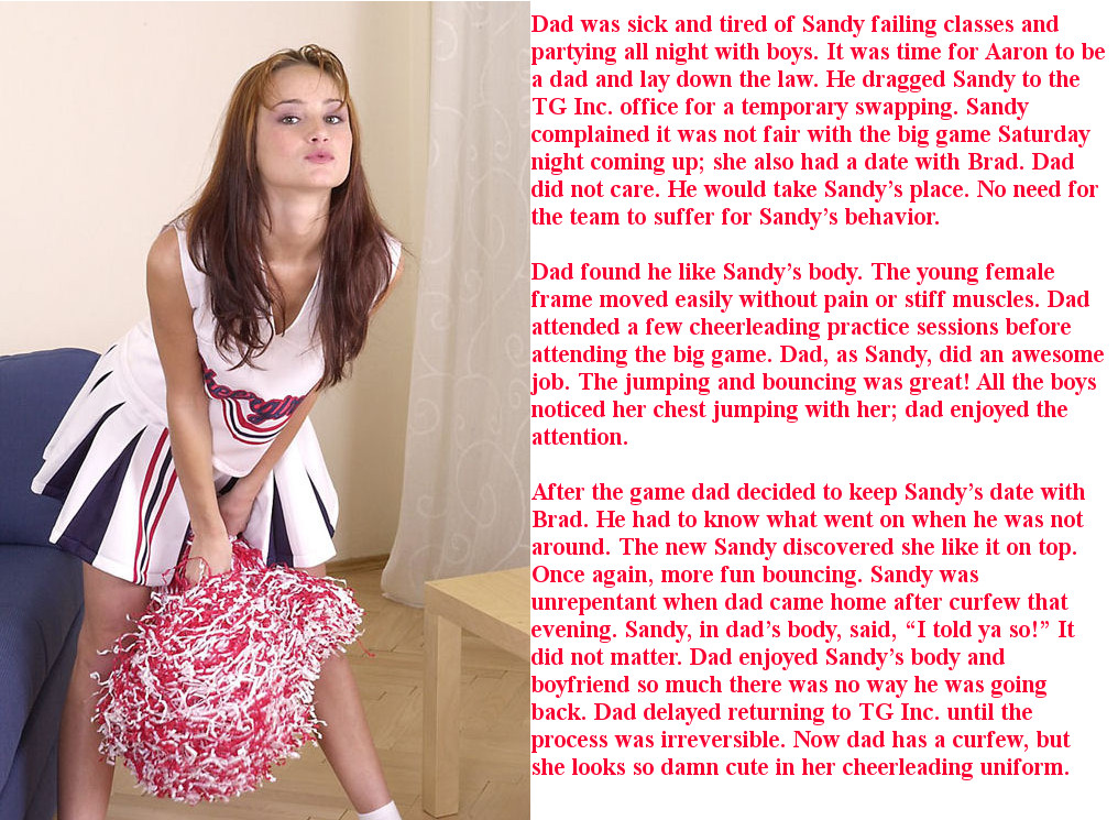 Krazy Kay's TG Captions and Swaps: Three Cheers for Sandy