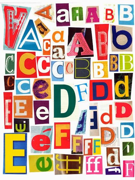 Printable Alphabet Letters A4 Size