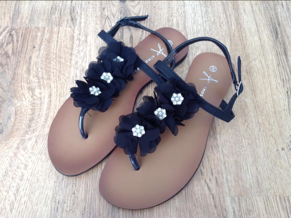 Black sandals primark - Spring Summer Primark River Island Haul 2014