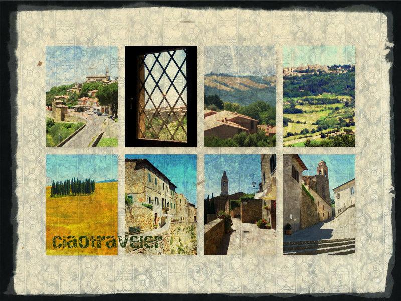 Tuscany:  Montalcino, Pienza, Montepulciano
