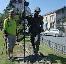 Peregrinos a Compostela