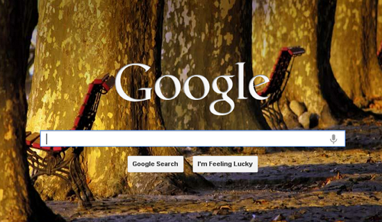 how to add background to google