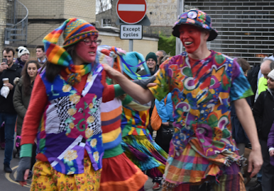 A pair of dancers from Gog Magog Molly