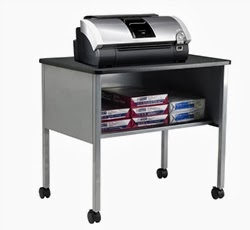 Mayline Eastwinds Mobile Storage Table