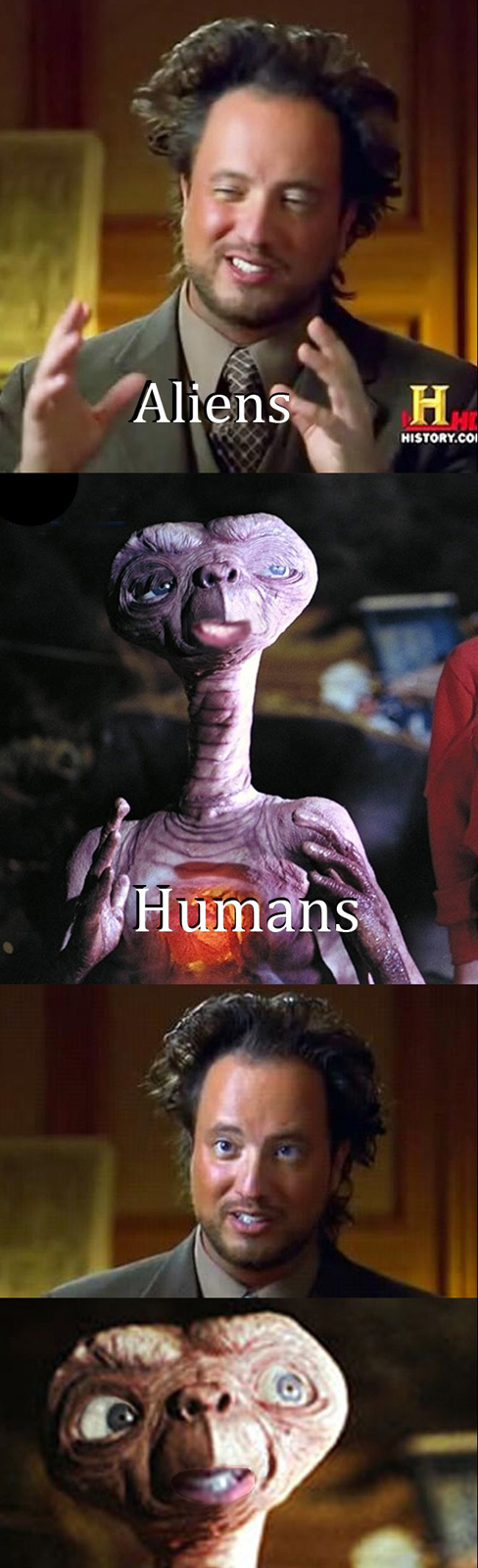 Aliens - Humans