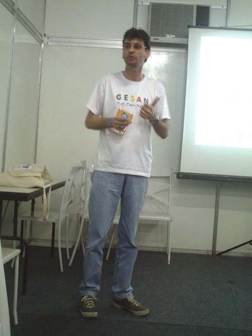 GESAN na Atividade Integradora da RedeSAN durante IV CNSAN, Salvador, nov 2011.