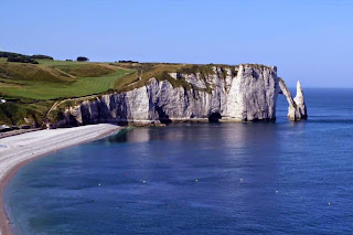 Sea Cliffs, Etretat, France: