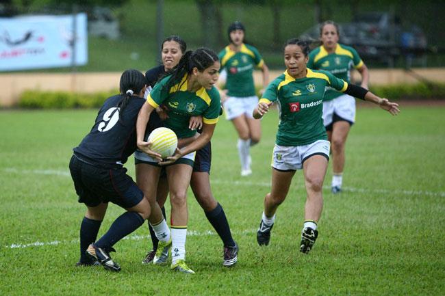 Fotos da seleção feminina brasileira de Rugby