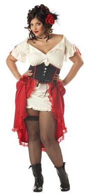 Sexy Spanish Gypsy Lady Costume